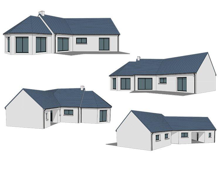 Nouveau Vente maison construction maison à LR-31