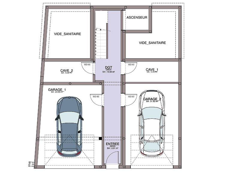 Maison Individuelle Sur Sous Sol Complet
